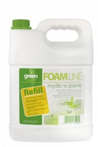 Mydło piankowe GREEN APPLE 5 L
